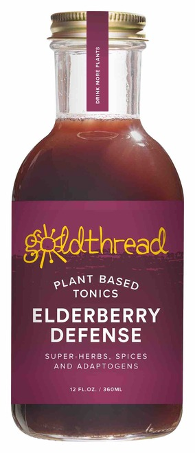 Goldthread Elderberry Defense Plant-Based Tonic