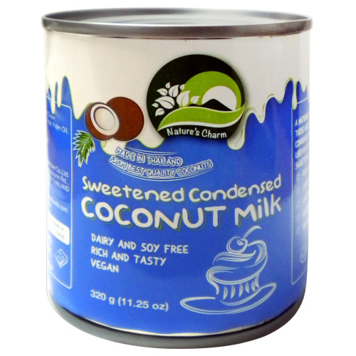 Nature Charms Sweetened Condensed Coconut Milk