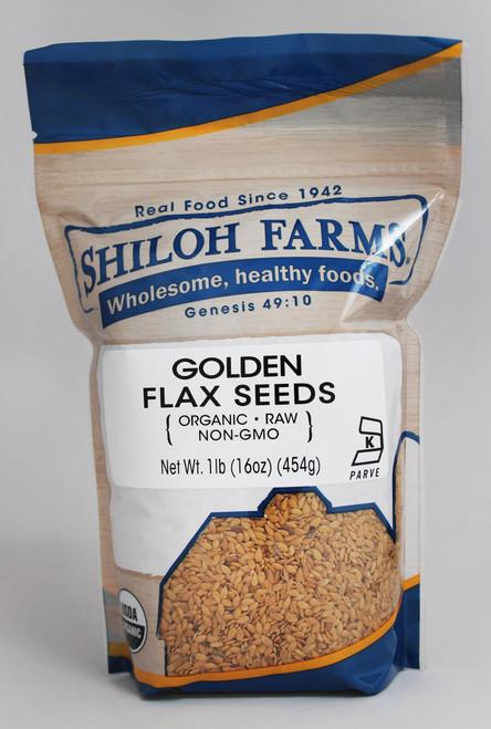 Shiloh Farms Organic Golden Flax Seeds