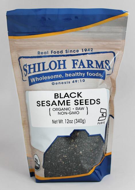 Shiloh Farms Organic Black Sesame Seeds