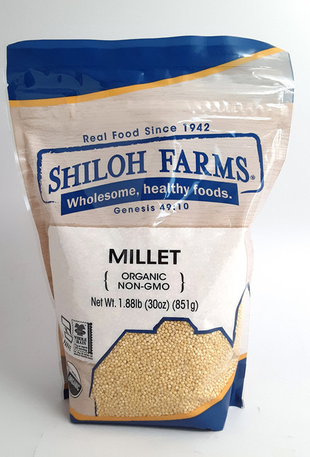 Shiloh Farms Organic Millet Grain (Hulled)
