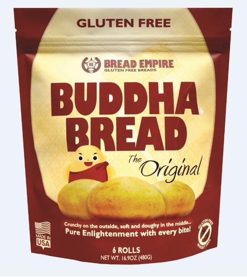 Bread Empire Gluten Free Buddha Bread Rolls