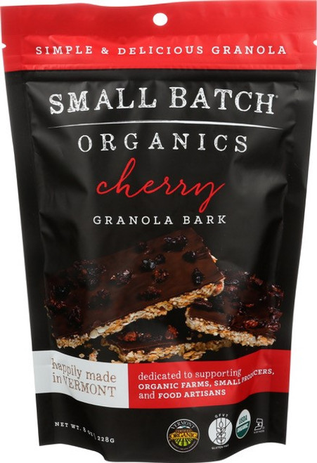 Small Batch Organics Gluten Free Cherry Granola Bark