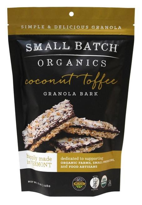 Small Batch Organics Gluten Free Coconut Toffee Granola Bark