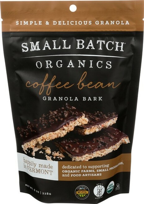 Small Batch Organics Gluten Free Coffee Bean Granola Bark