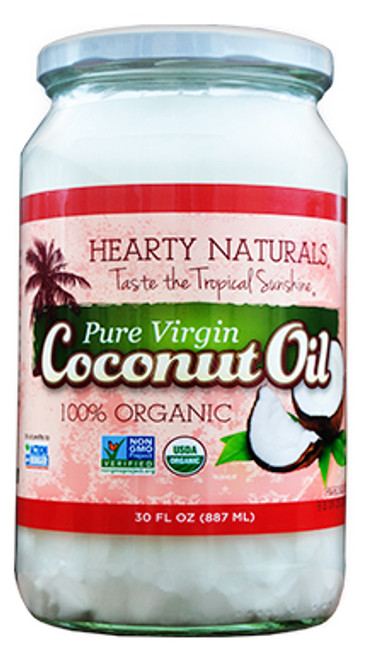 Hearty Naturals Gluten Free Extra Virgin Coconut Oil