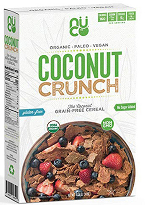 Nu Coconut Gluten Free Coconut Crunch Grain Free Cereal