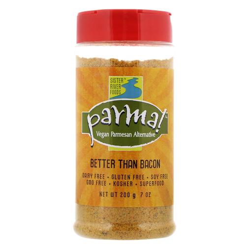 Parma! Gluten Free Better Than Bacon Vegan Parmesan 7 oz