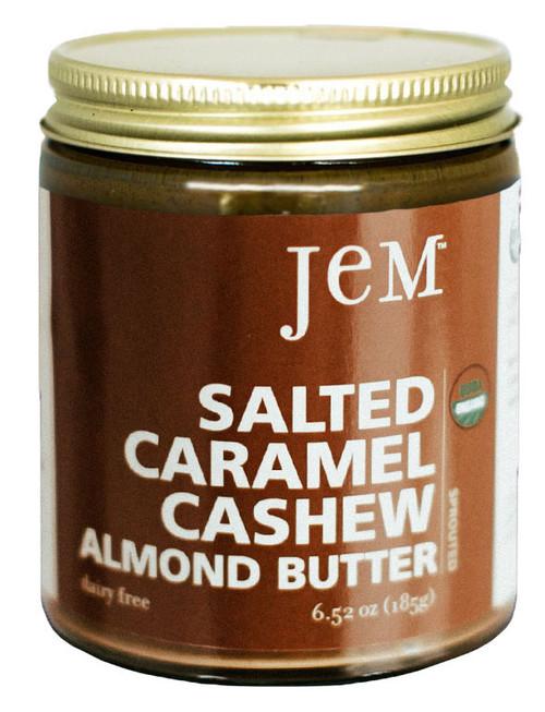 Jem Gluten Free Salted Caramel Cashew Almond Butter