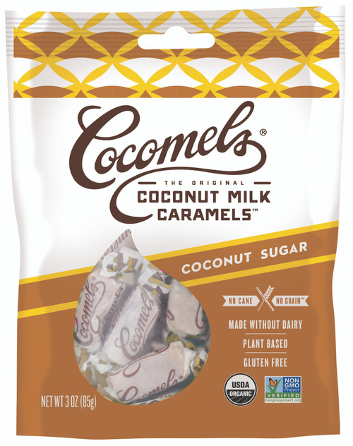 Cocomels Gluten Free Coconut Sugar Cocomels