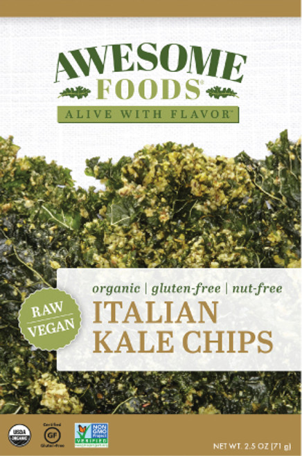 Awesome Foods Gluten Free Kale Chips Italian