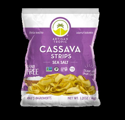 Artisan Tropic Gluten Free Cassava Strips with Sea Salt