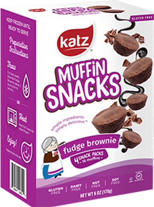 Katz Fudge Brownie Muffin Snacks