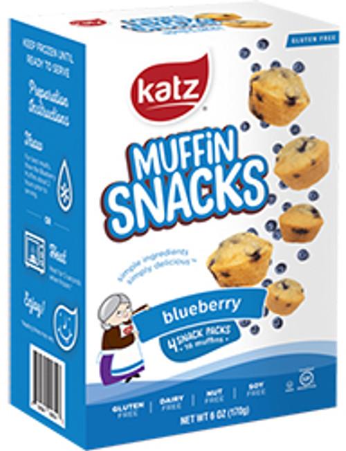 Katz Blueberry Muffin Snacks
