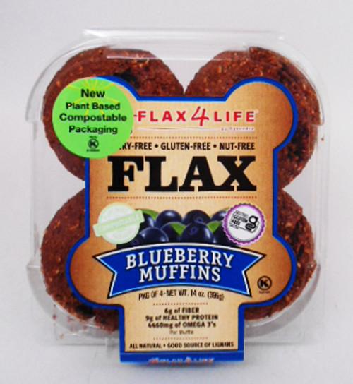 Flax 4 Life Wild Blueberry Muffins