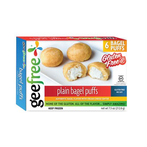 GeeFree Plain Stuffed Bagel Puffs