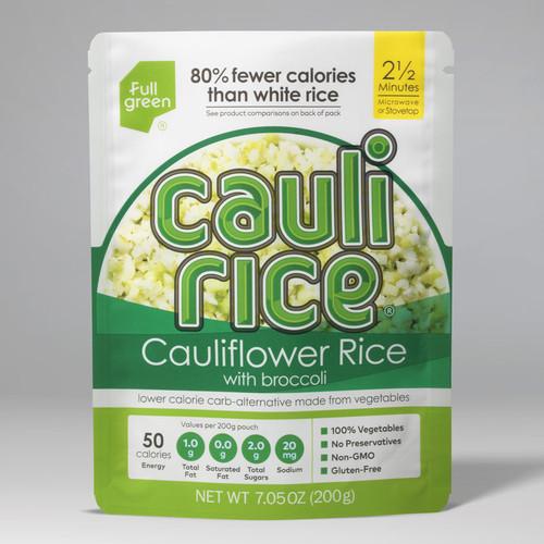 Full Green Gluten-Free Broccoli Cauliflower Rice