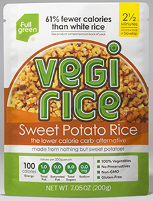 Full Green Sweet Potato Cauliflower Rice