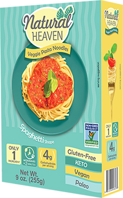 Natural Heaven Gluten-Free Spaghetti Hearts of Palm Pasta