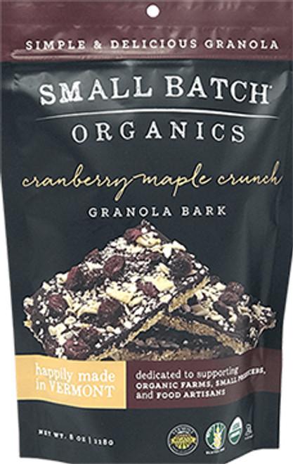 Small Batch Organics Cranberry Maple Crunch Granola Bark