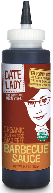Date Lady BBQ Sauce Squeeze Bottle
