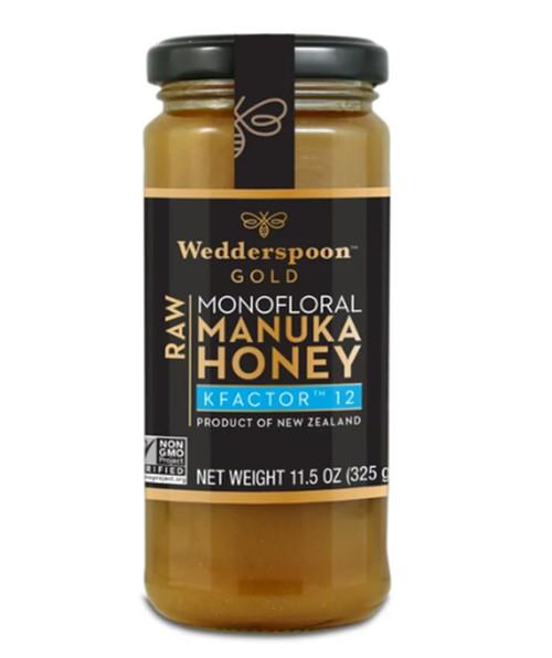 Wedderspoon Organic Manuka Honey KF12, Raw