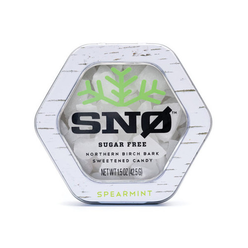 Sno Spearmint Sugar Free Birch Xylitol Candy