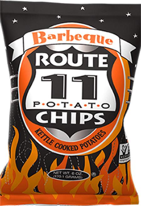 Route 11 Potato Chips Gluten-Free Barbeque Flavor Potato Chips