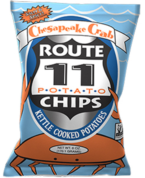 Route 11 Potato Chips Chesapeake Crab Flavor Potato Chips