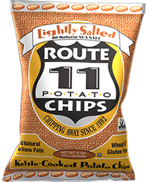 Route 11 Potato Chips Gluten-Free Lightly Salted Potato Chips