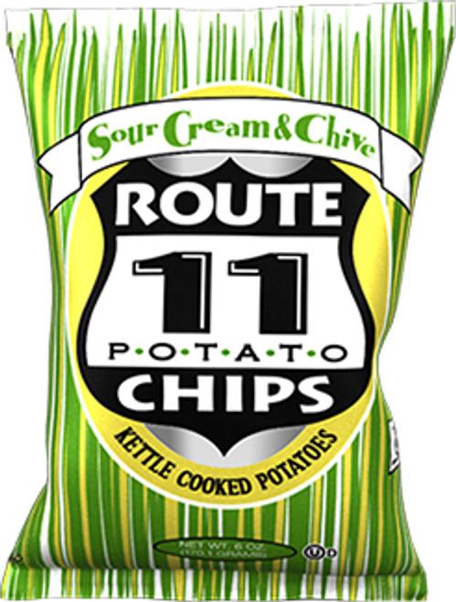 Route 11 Potato Chips Gluten-Free Sour Cream & Chives Potato Chips