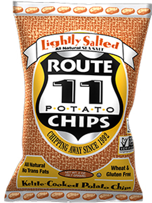 Route 11 Potato Chips Gluten-Free Lightly Salted Potato Chips Snack Size