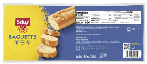 Schar Gluten-Free Par-Baked Baguettes (2 per pack)