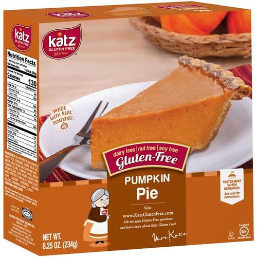Katz Gluten Free Pumpkin Pie, 6 inch