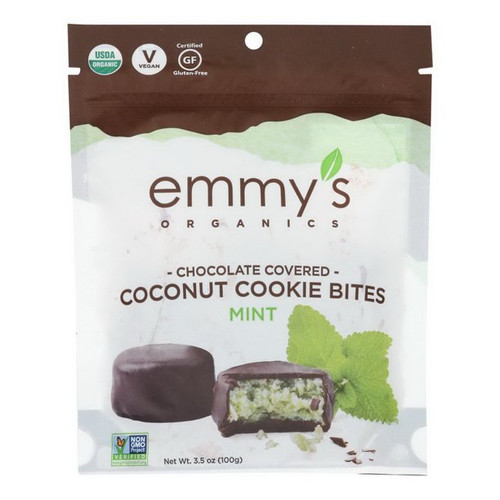 Emmy's Double Chocolate Mint Cookies