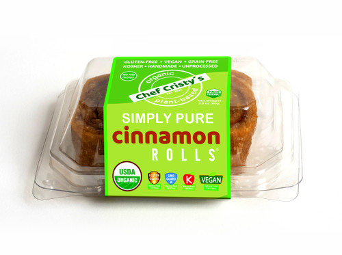 Chef Cristy's Cinnamon Simply Pure Rolls