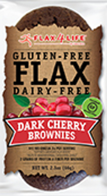 Flax 4 Life Dark Cherry Brownie Mini Muffins (2/Pack)