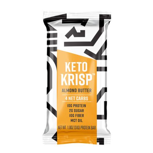 Keto Krisp Gluten-Free Almond Butter Protein Bar