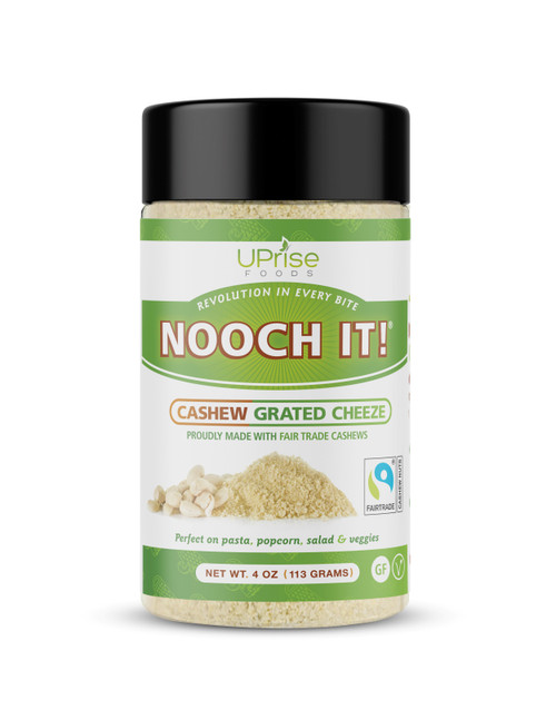 UpRise Nooch It! Cashew Grated Cheeze