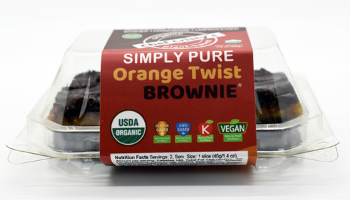 Chef Cristy's Orange Twist Brownies Simply Pure