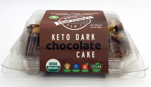 Chef Cristy's Keto Dark Chocolate Mini Cake