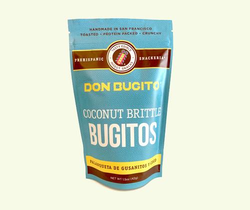 Don Bugito Coconut Toffee-Brittle Bugitos