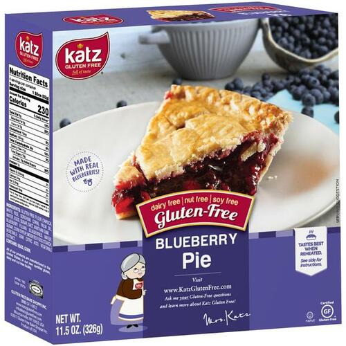 Katz Blueberry Pie 6 inch