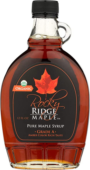 Rocky Ridge Pure Maple Syrup, Grade A, Dark Robust