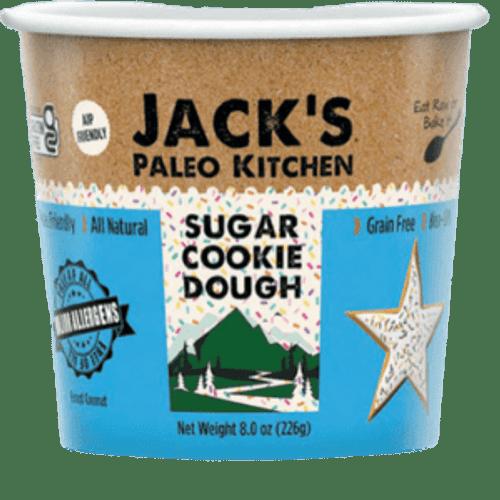 Jack's Paleo Gluten-Free Kitchen Sugar Cookie Cookie Dough (FROZEN)