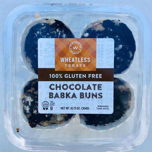 Wheatless Gluten-Free Chocolate Babka Buns