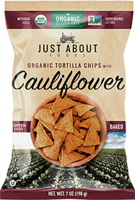 Just About Foods Cauliflower Tortilla Chips