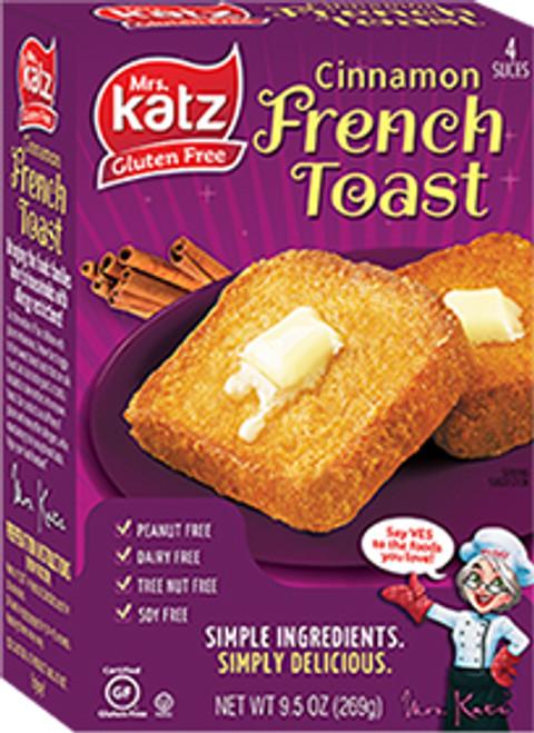 Katz Gluten-Free Cinnamon French Toast (FROZEN)