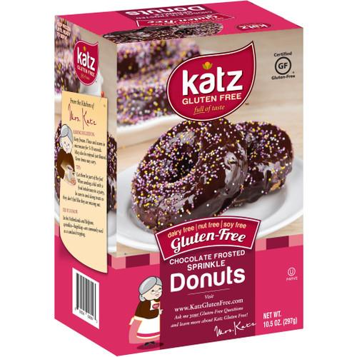 Katz Chocolate Sprinkle Donuts