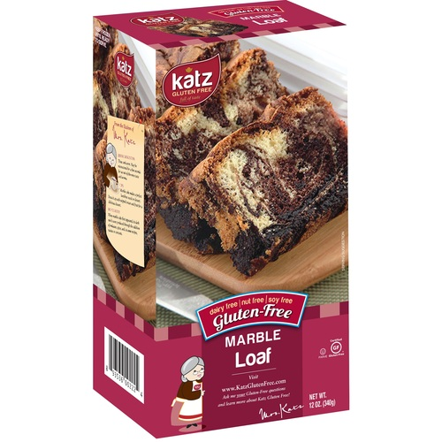 Katz Gluten-Free Marble Loaf (Cake) (FROZEN)